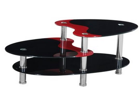 Red/Black Coffee Table