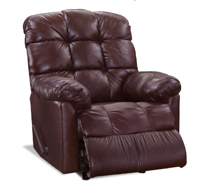 Genuine Leather Recliner Chair